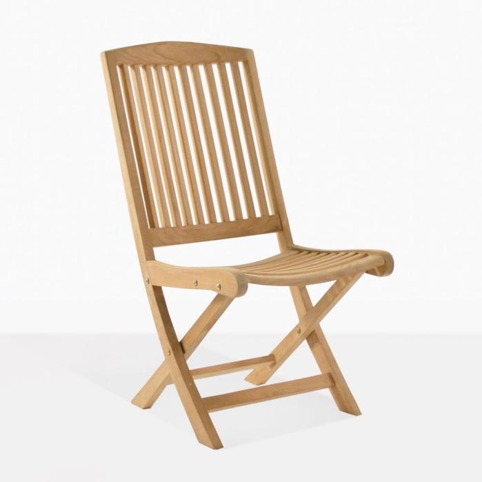Halimah Teak Folding Side Chair