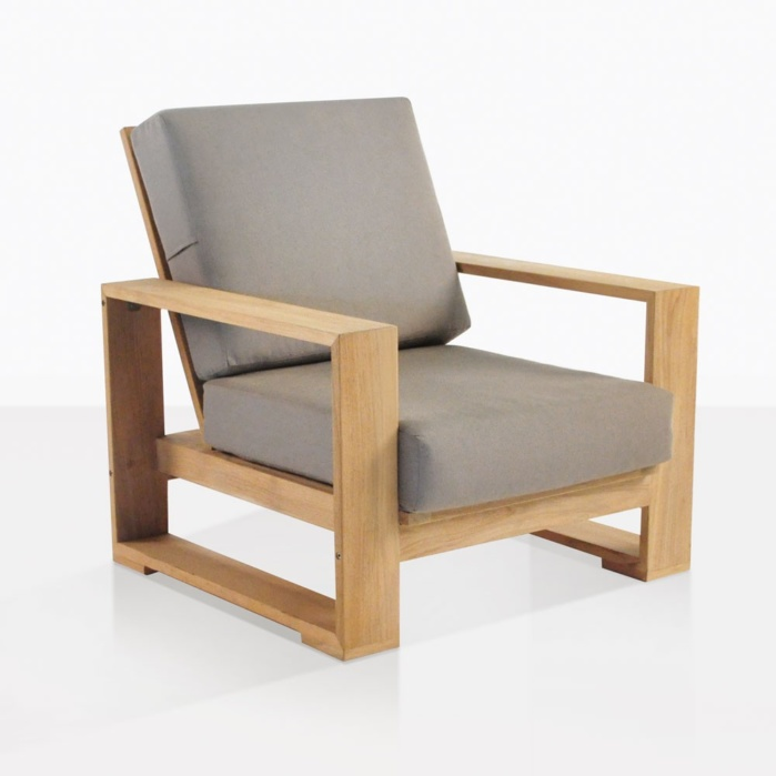 Havana Teak Outdoor Lounge Chair