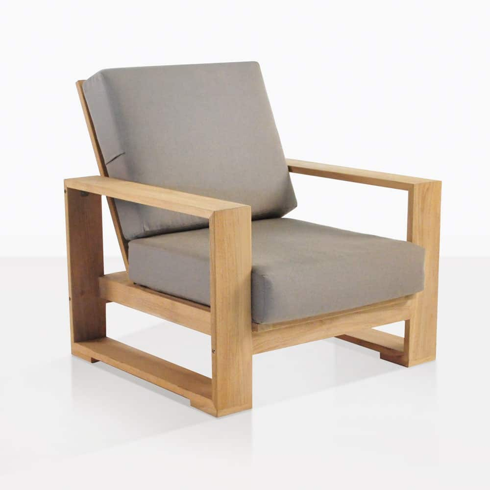 Havana Outdoor Club Chair Patio Lounge Teak Furniture