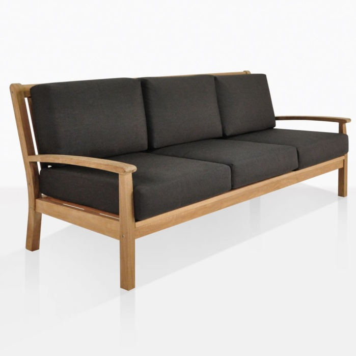 Naples Teak Sofa With Cushions