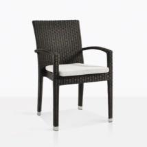 Romansa Wicker Dining Arm Chair