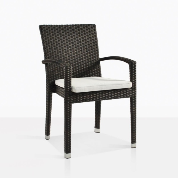 Romansa Wicker Dining Arm Chair