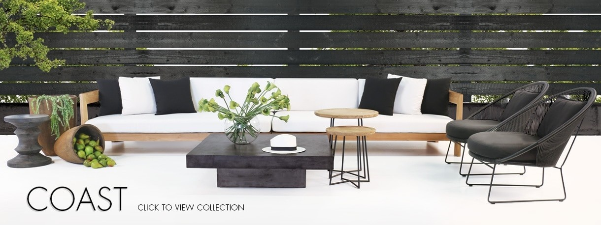 The Coast Teak Outdoor Furniture Collection