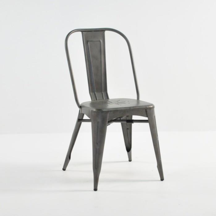 alix aluminum modern dining chair | | teak warehouse