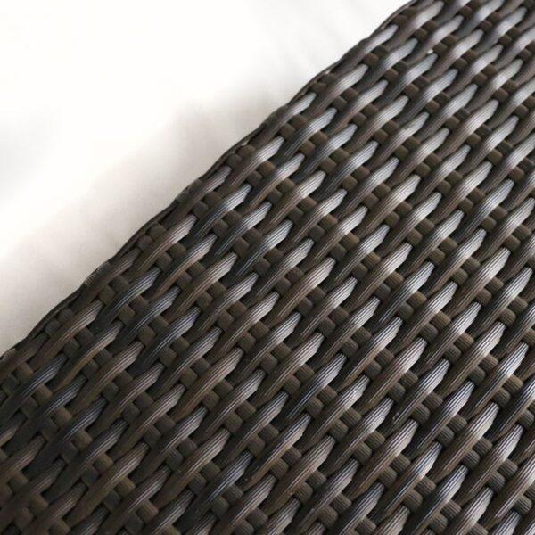 high end wicker furniture closeup