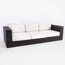 Austin Outdoor Wicker Sofa (Java)-0
