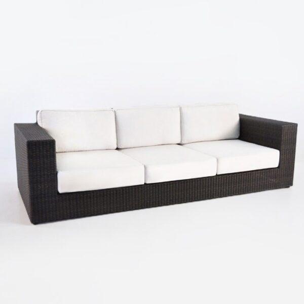 Austin Outdoor Wicker Sofa (Java)-0
