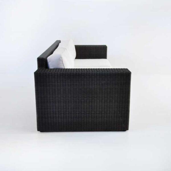 contemporary outdoor wicker sofa