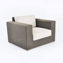 Austin Outdoor Wicker Club Chair (Kubu)-0