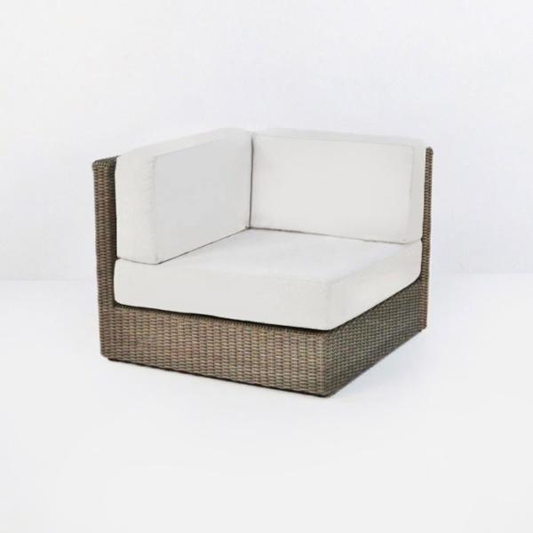outdoor wikcer sectional corner unit