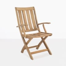Bella Teak Dining Arm Chair