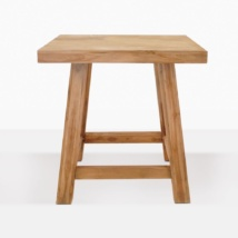 Blok Reclaimed Teak Bar Table