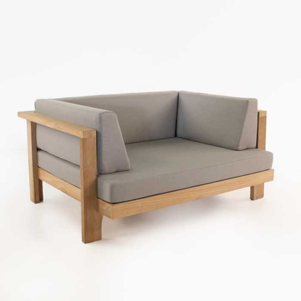 Cabo Teak Outdoor Club Chair-0