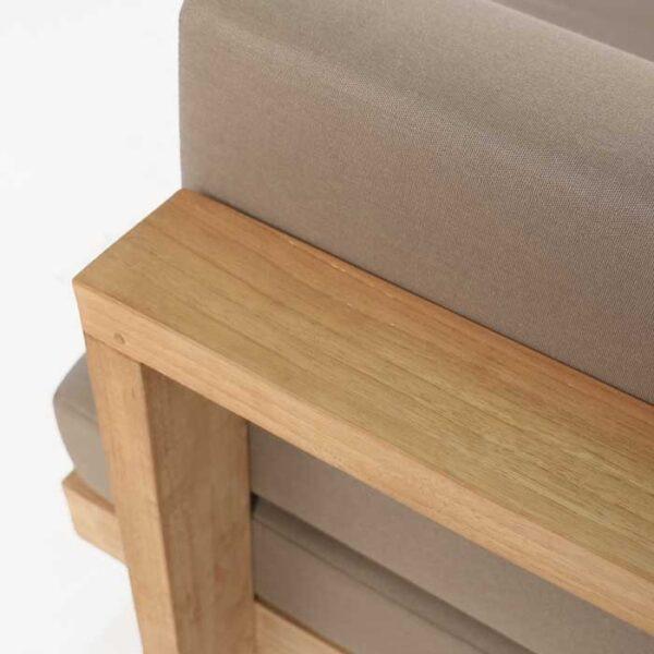 grade a teak furniture closeup image