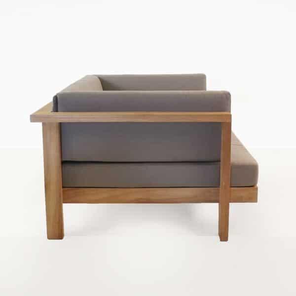 high quality teak outdoor club chair