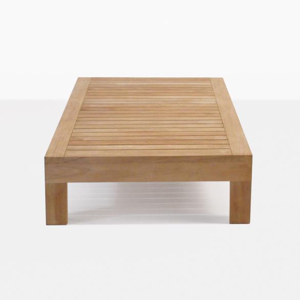 Cabo Premium Teak Rectangular Coffee Table