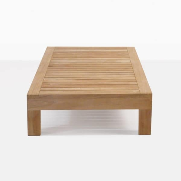 Cabo Premium Teak Rectangular Coffee Table