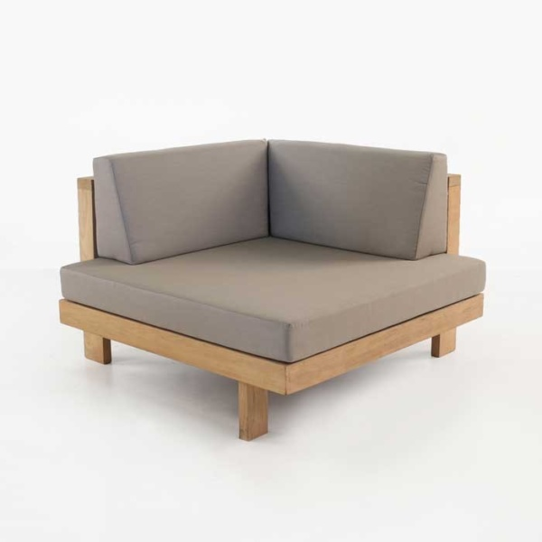 Cabo Teak Outdoor Sectional (Corner)-0