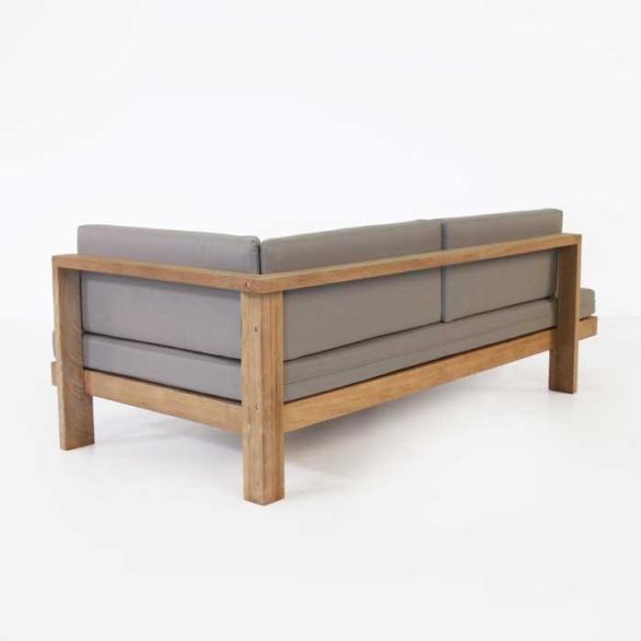 a-grade teak sectional sofa
