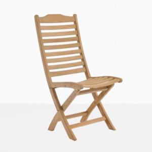 Cardive Folding Teak Dining Chair