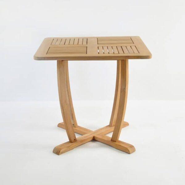 cayman teak table side view