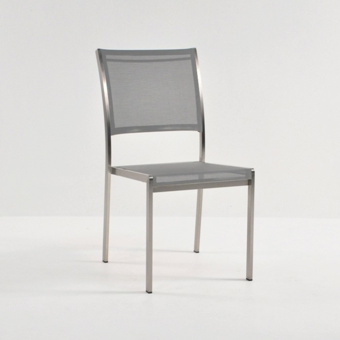 Classic Batyline Stacking Dining Chair (Taupe)-0