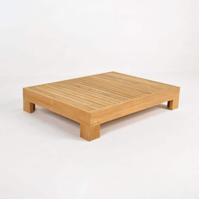 coast teak coffee table patio furniture teak warehouse. Black Bedroom Furniture Sets. Home Design Ideas