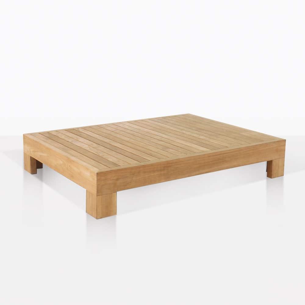 Grate Teak Coffee Table: Coast Teak Coffee Table