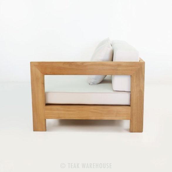 teak sectional sofa