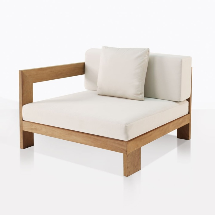 Chair - Coast - right arm white