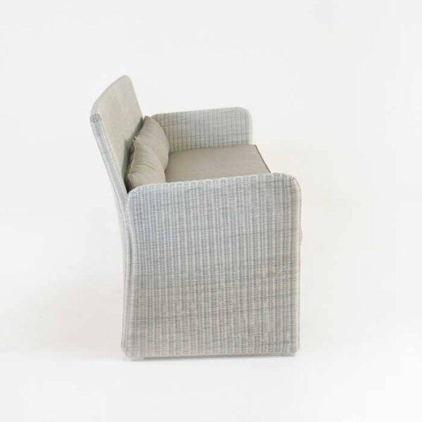 cube outdoor wicker sofa side