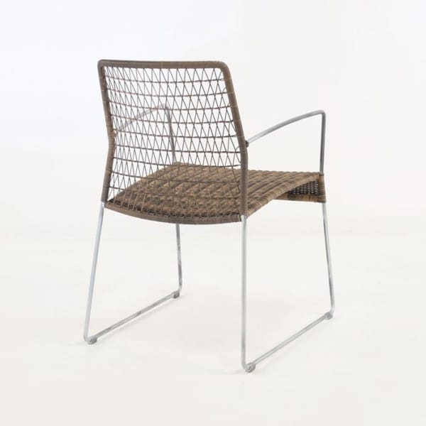 outdoor ecolene sampulut arm chair