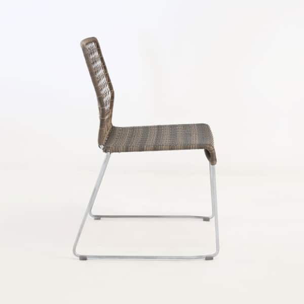 sempulut outdoor wicker dining chair