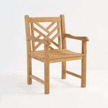 Elizabeth Teak Arm Chair-0