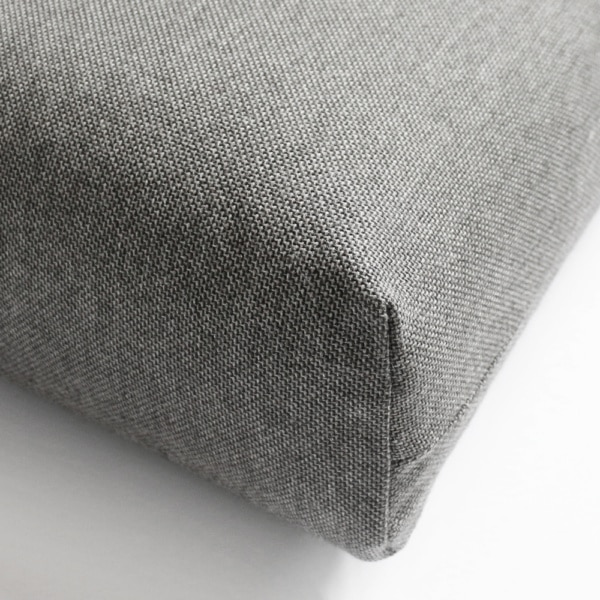 Essentials Granite Sunbrella Cushion Closeup