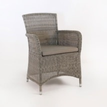 Gilbert Wicker Dining Arm Chair -0