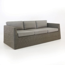 Outdoor Wicker Sofa (Kubu)-0