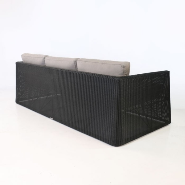 Giorgio Wicker Sofa back view