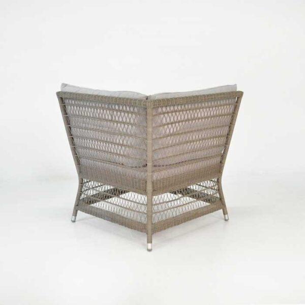 hampton corner chair back view