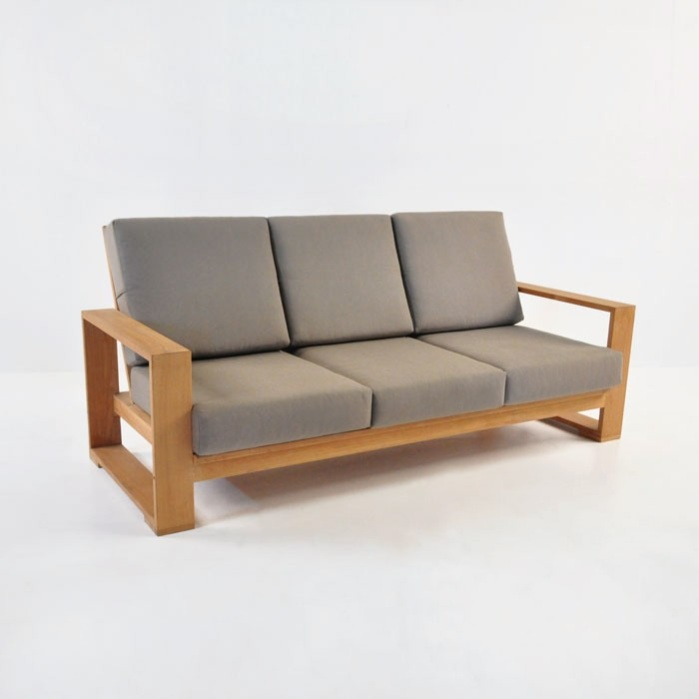 Havana Teak Outdoor Sofa 0