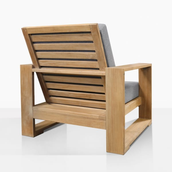 Havana Premium Teak Outdoor Lounge Chair Back