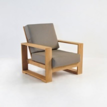 Havana Teak Outdoor Club Chair-0