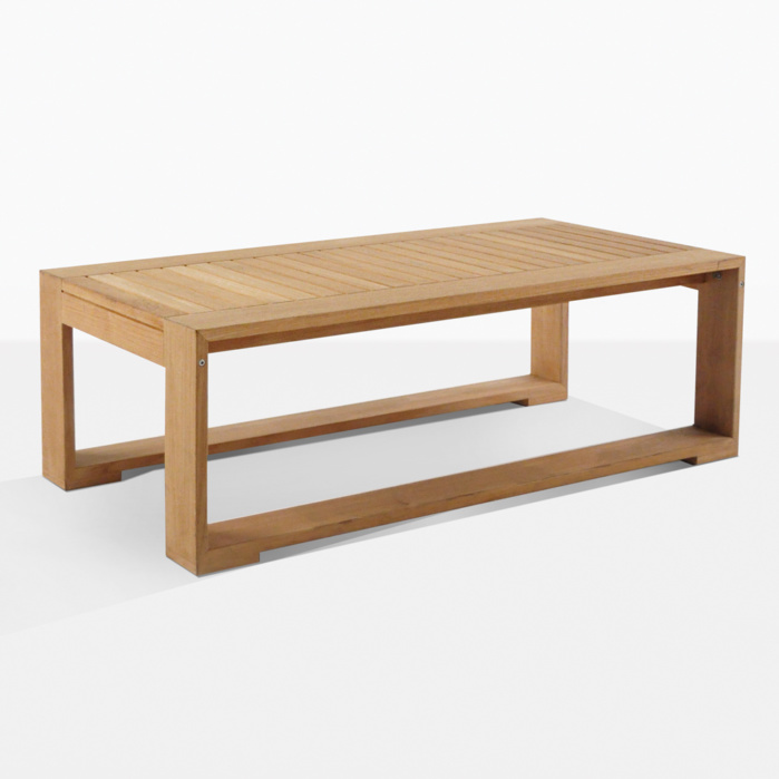 Havana Teak Large Rectangular Coffee Table
