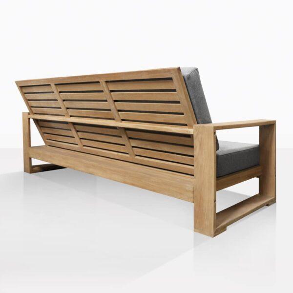 Havana Teak Outdoor Sofa Back