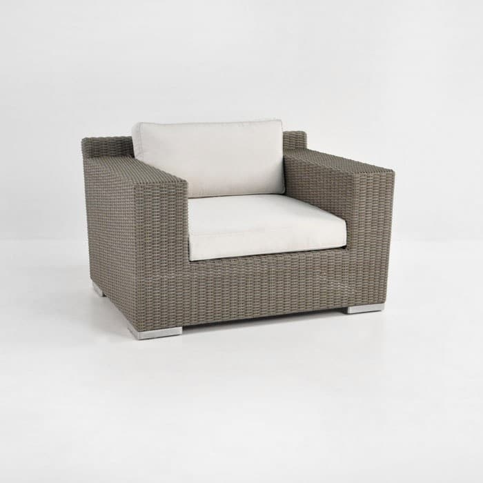 Henry Wicker Outdoor Lounge Chair Kubu Patio Furniture Teak Warehouse