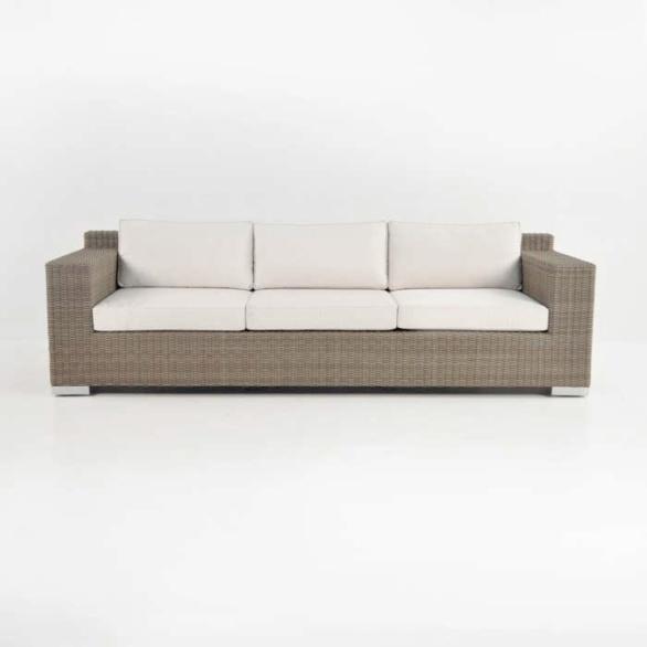 ... Henry Outdoor Wicker Sofa Front. U201c