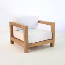 Ibiza Teak Outdoor Club Chair-0