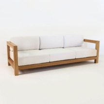 Ibiza Teak Outdoor Sofa-0