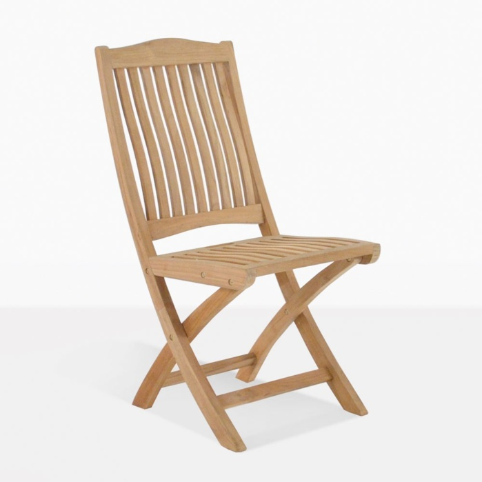 Kinsington Teak Folding Chair For Outdoor Dining