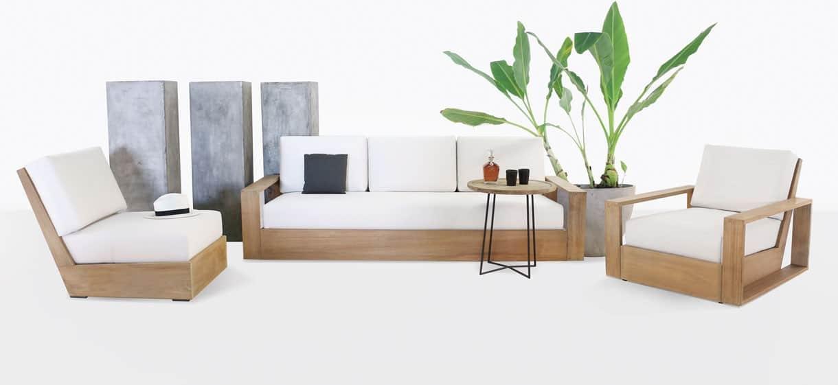 Kuba Premium Teak Outdoor Furniture Collection